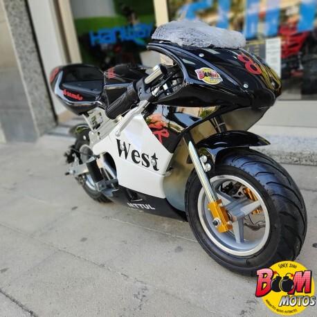 Pocket bike Eléctrica 500w